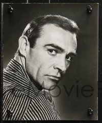 4r1219 SEAN CONNERY 6 from 7.5x9.5 to 8x10 stills 1960s-1970s Diamonds are Forever, Bond, Zardoz!