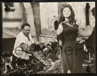 4r1221 TARAS BULBA 6 from 6.75x8.75 to 7x9 stills 1962 all with great images of Christine Kaufmann!