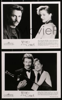 4r1225 YEAR OF THE COMET 6 8x10 stills 1992 great images of sexiest Penelope Ann Miller, Daly!