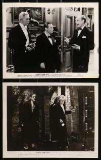 4r1226 YOU'LL FIND OUT 6 8x10 stills 1940 great images of Boris Karloff, Peter Lorre & Kay Kyser!