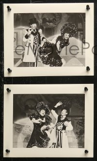 4r1227 ZAZA 6 8x10 stills 1939 great image sof dancing Claudette Colbert and Bert Lahr by McAlpin!