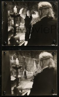 4r1215 PHANTOM OF THE OPERA 6 English from 7.5x9.25 to 8x10 stills 1962 Fisher Hammer horror, Lom!