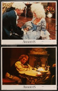 4r0028 AMADEUS 8 LCs 1984 Milos Foreman, Mozart biography, winner of 8 Academy Awards!