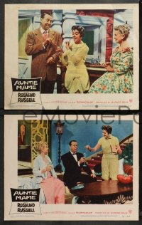 4r0409 AUNTIE MAME 6 LCs 1958 Rosalind Russell, Forrest Tucker, Waterman and Gilchrist!