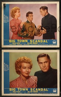 4r0039 BIG TOWN SCANDAL 8 LCs 1947 underground basketball gamblers caught fixing big game!