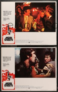 4r0389 MEAN STREETS 7 LCs 1973 Harvey Keitel, Cesare Danova, directed by Martin Scorsese!