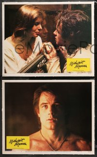4r0390 MIDNIGHT EXPRESS 7 linen LCs 1978 Alan Parker, Brad Davis in prison for smuggling dope!