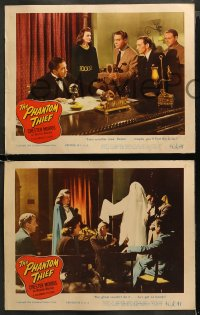 4r0398 PHANTOM THIEF 7 LCs 1946 Chester Morris as Boston Blackie, witnesses to ghastly crime!