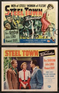 4r0302 STEEL TOWN 8 LCs 1952 Lund & Duff are men of steel and sexy Ann Sheridan is a woman of flesh!