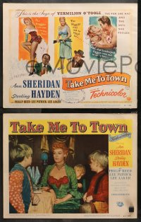 4r0312 TAKE ME TO TOWN 8 LCs 1953 saga of sexy Ann Sheridan & the men she fooled, Sterling Hayden!