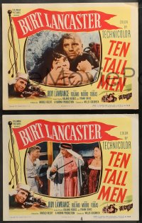 4r0318 TEN TALL MEN 8 LCs 1951 French Foreign Legionnaire Burt Lancaster with Jody Lawrence!