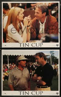 4r0327 TIN CUP 8 LCs 1996 golfer Kevin Costner, sexy Rene Russo, Cheech Marin, Don Johnson!
