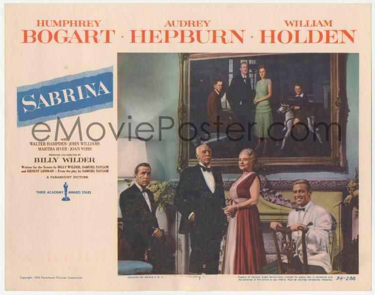 eMoviePoster.com: 4w0021 SABRINA LC #4 1954 Billy Wilder