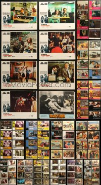 4x0263 LOT OF 167 LOBBY CARDS 1960s-1990s incomplete sets from a variety of different movies!