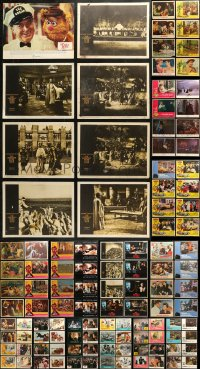 4x0261 LOT OF 182 LOBBY CARDS 1960s-1990s incomplete sets from a variety of different movies!