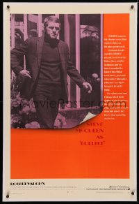4y0044 BULLITT linen 1sh 1968 great image of Steve McQueen, Peter Yates car chase classic!