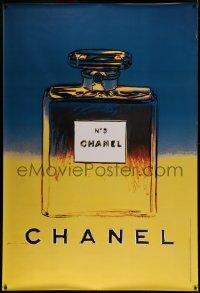 4z0001 CHANEL NO. 5 DS 47x69 French advertising poster 1997 the famous perfume art by Andy Warhol!