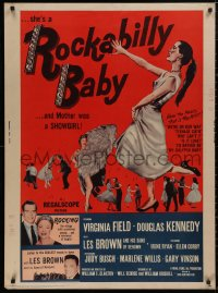 5b0374 ROCKABILLY BABY 30x40 1957 Judy Busch's mother was a showgirl, Les Brown and his band!