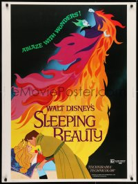 5b0381 SLEEPING BEAUTY style A 30x40 R1979 Walt Disney cartoon fairy tale fantasy classic!