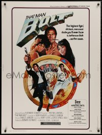 5b0390 THAT MAN BOLT 30x40 1973 highest flyin' slickest kung fu master Fred Williamson, ultra rare!