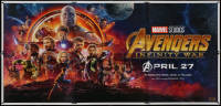 5b0412 AVENGERS: INFINITY WAR Indian 6sh 2018 Robert Downey Jr., Pratt, Evans, different!