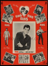 5b0417 GIRL HAPPY Danish 1965 great image of Elvis Presley dancing, Shelley Fabares, rock & roll!