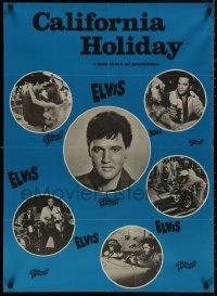 5b0418 SPINOUT Danish 1966 Elvis & sexy bikini babes, Shelley Fabares, California Holiday!