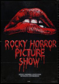 5b0522 ROCKY HORROR PICTURE SHOW Hungarian 22x32 1988 Khell Csorsz artwork based on classic image!