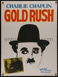 5b0411 GOLD RUSH Indian R1970s Charlie Chaplin classic, cool different artwork!