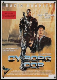 5b0430 CYBORG COP Lebanese 1993 Bradley is born of flesh and turned to steel, kinda like Robocop!