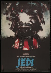 5b0031 RETURN OF THE JEDI limited edition commercial Polish 27x39 2015 Darth Vader by Dybowski!