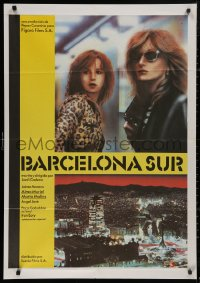 5b0695 BARCELONA SUR Spanish 1981 different image of sexy prostitutes Jaime Moreno & Alma Muriel!