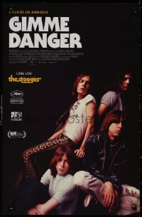 5b0066 GIMME DANGER mini poster 2016 Iggy Pop, Asheton, Asheton, Williamson, color image!