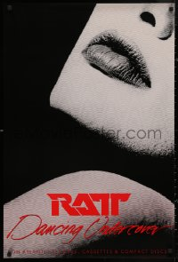 5b0053 RATT 24x36 music poster 1986 Dancing Undercover, sexy close-up design!