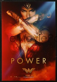 5b0069 WONDER WOMAN group of 3 mini posters 2017 sexiest Gal Gadot in title role & as Diana Prince!