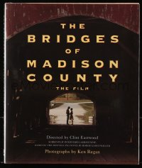 5c0038 BRIDGES OF MADISON COUNTY hardcover book 1995 Clint Eastwood's movie starring Meryl Streep!