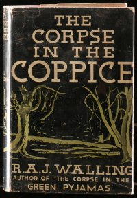 5c0088 CORPSE IN THE COPPICE hardcover book 1935 Scotland Yard murder mystery by R.A.J. Walling!