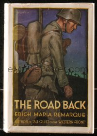 5c0207 ROAD BACK hardcover book 1931 Erich Maria Remarque's novel that became a James Whale movie!