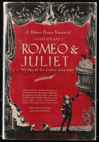 5c0208 ROMEO & JULIET hardcover book 1936 special movie edition with scenes from the movie!