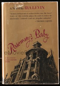 5c0209 ROSEMARY'S BABY 1st edition hardcover book 1967 Ira Levin novel that became a Polanski movie!