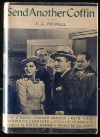 5c0213 SEND ANOTHER COFFIN hardcover book 1939 F.G. Presnell's Slightly Honorable!