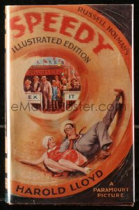 5c0218 SPEEDY English hardcover book 1928 Russell Holman's novel that became a Harold Lloyd movie!