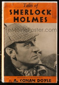 5c0222 TALES OF SHERLOCK HOLMES hardcover book 1940s short stories by Sir Arthur Conan Doyle!