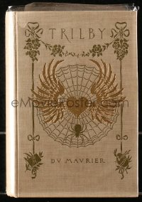 5c0231 TRILBY 1st American edition hardcover book 1894 George du Maurier's novel that became a movie