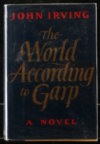 5c0236 WORLD ACCORDING TO GARP 1st edition hardcover book 1978 John Irving novel that became a movie!