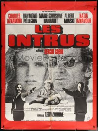 5c1246 INTRUDERS French 1p 1972 Sergio Gobbi, Charles Aznavour, Marie-Christine Barrault, Les Intrus