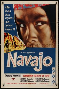 5d0807 NAVAJO revised 1sh 1952 Native American Indians, he has his eyes on your heart!