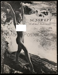5f0056 SUNSWEPT English program 1961 sexy topless Yannick Philouze in erotic water ballet!