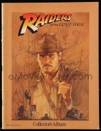 5f0003 RAIDERS OF THE LOST ARK Canadian souvenir program book 1981 Harrison Ford + Amsel art!