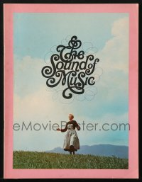 5f0055 SOUND OF MUSIC English souvenir program book 1965 Julie Andrews, Robert Wise musical classic!